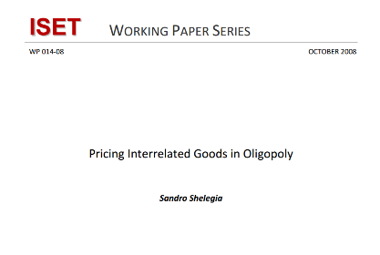 Pricing Interrelated Goods in Oligopoly