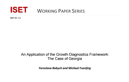 An Application of the Growth Diagnostics Framework