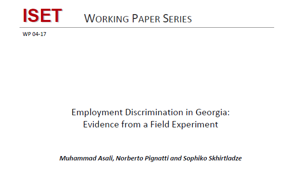 Employment Discrimination in Georgia