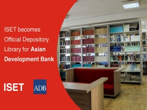 ISET Library becomes official depository library for Asian Development Bank