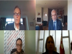 ISET hosts online discussion with Georgian government & World Bank representatives