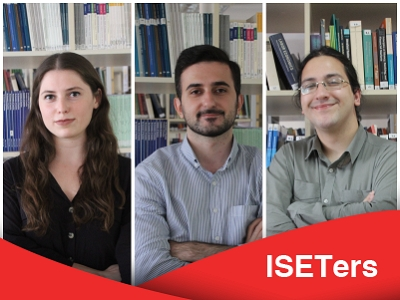 ISET hires three graduates, who will begin work in ISET Policy Institute